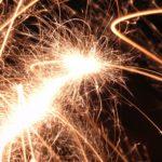 Długie zimne ognie na wesele, śluby i inne uroczystości